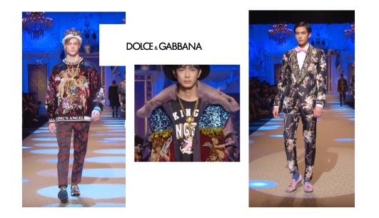 FW 2018 Dolce Gabbana